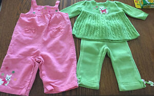 Baby girl Gymboree outfits
