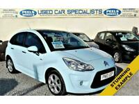 2010 10 CITROEN C3 1.6 * TURBO DIESEL * EXCLUSIVE HDI * 5 DOOR * BABY BLUE *