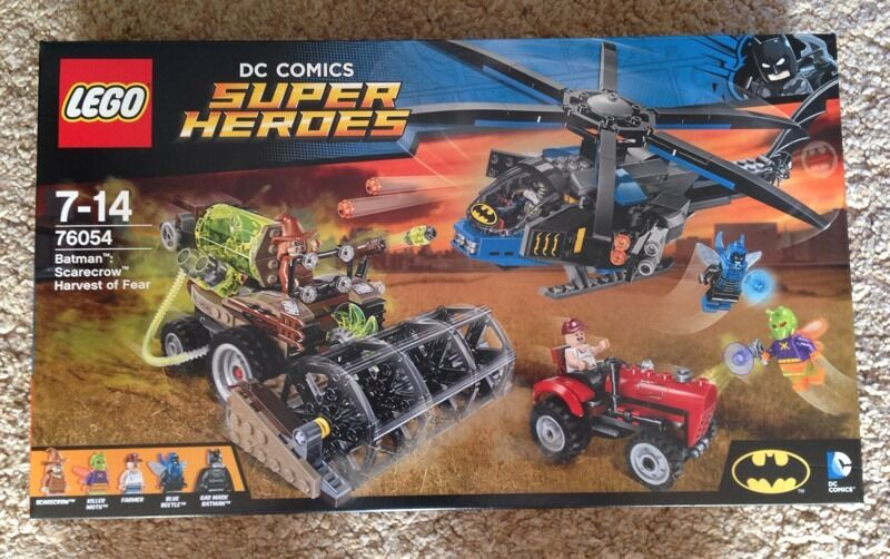 Lego Superheroes Batman Scarecrow Harvest New