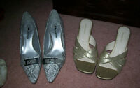 3 pairs womens shoes, Roberto Capucci sz 8, Naturalizer size 7 s