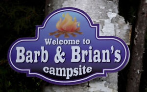 SIGNS for your CAMPSITE