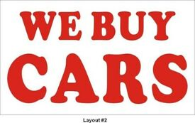 ALL CARS WANTED INSTANT PAYMENT VW GOLF ASTRA VECTRA FOCUS FIESTA CORSA MONDEO MINI POLO CLIO 207
