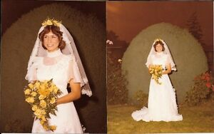 WEDDING DRESS AND MATCHING SHORT VEIL Prince George British Columbia image 1
