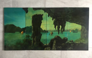 Moving sale … A beautiful Vietnamese Painting Lacquer