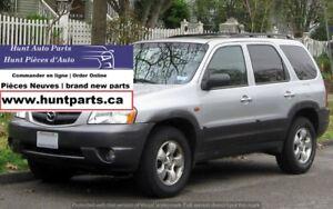 y Mazda Tribute 2001 2002 2003 2004 2005 2006 j Parts Pièces X