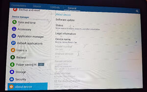 Make an offer: Galaxy Tab Pro 10.1 - screen is cracked