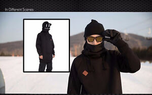X SUMMER vêtements SNOW Black Snowboard Outdoor Hoodie tag XL