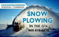 Get The Best Snow Removal Service for Your Business or Home