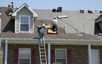ROOFING — Don't wait until the snow melts to book your project!