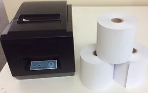 The thermal paper rolls and printers for sale at low price