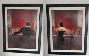 framed canvas print combo /cadres imprimés sur toile