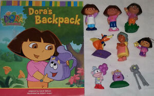 9 set of Qty 9 Dora Toys & Book 1 Set of Qty 9 Diego Toys & Book London Ontario image 10