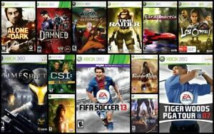 XBOX 360 Video Game CLEAROUT