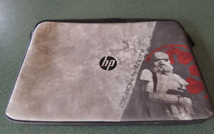 Awesome HP Star Wars Sleeve Case Laptop Bag, Grey 15 inches
