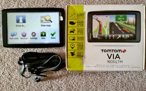GPS Tomtom Via 1605LMT IQ USA-CAN-MEXICO 2018 newest map