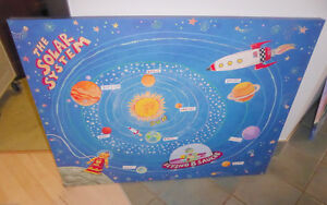 Large Solar System canvas in excellent condition Kitchener / Waterloo Kitchener Area image 1
