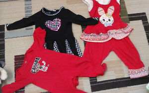 12 to 18 month baby girl cloths+shoes