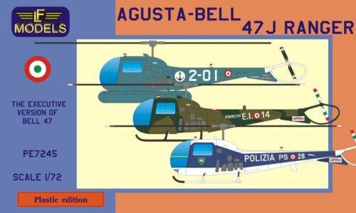 Agusta - Bell 47J Ranger. 1/72,  Italy, LF Models PE7245 , New