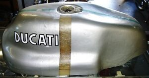 DUCATI BEVEL TWIN  1974  750SS green frame  gas tankalso suit GT/SPORT frame