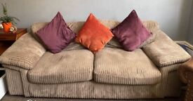 FREE - Comfy Large 3 Seater Sofa