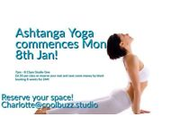 Beginners Ashtanga Yoga - Book Your Place Now!