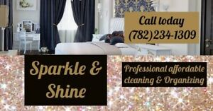 Sparkle & Shine cleaning and organizing
