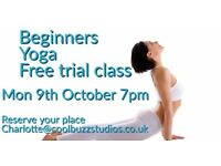 FREE Beginners Yoga Trial Class - Book Your Place Now!