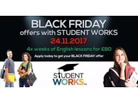 BLACK FRIDAY OFFER £80 X 1 MONTH OF ENGLISH LESSONS