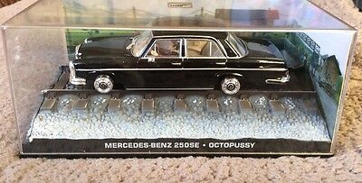James Bond Car Collection Mercedes-Benz 250SE-octopussy  for sale  Shipping to South Africa
