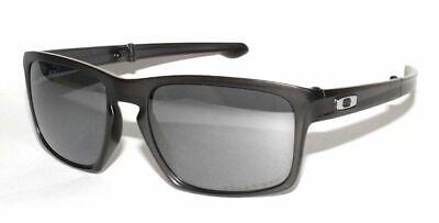 Oakley Sliver F POLARIZED Sunglasses OO9246-04 Polished Black W/ Black Iridium