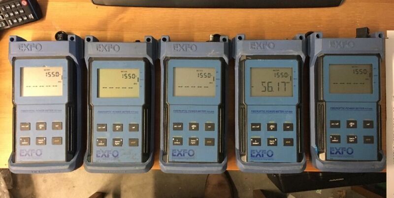 EXFO FOT-90A Optical Power Meter W-FOA