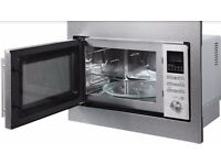 Brand New Russell Hobbs Built in 25 Litre Digital Combination Microwave, Stainless Steel