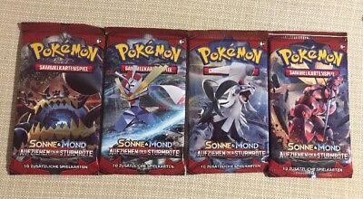 ck **Sonne & Mond 4 Aufziehen der Sturmröte** deutsch => NEU (Pokemon Pack)