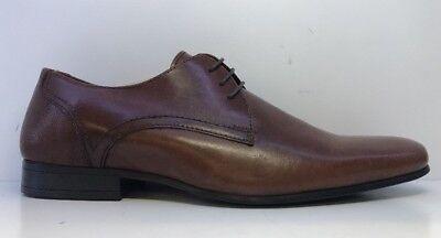 Burton Menswear Tan Sampson Lace Up Formal Shoes Uk 9