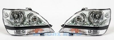NEWMAR MOUNTAIN AIRE 2005 2006 HEADLIGHTS HEAD LIGHTS LAMPS RV - SET
