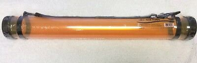 "ALVIN MT25-OR ICE TUBES ORANGE Document Art STORAGE & TRANSPORT TUBE 25"" X 2.75"""