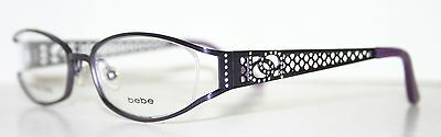 BEBE DREAMY PLUM New Designer Optical Eyeglass Frame For Women