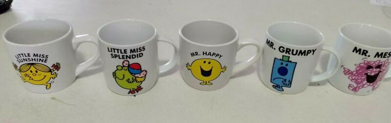 Little Miss And Mr Mug Set