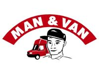 Man and van professional fast and friendly from £15 call now