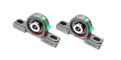 High Quality 12 Ucp201-8 Pillow Block Bearing With Grease Fitting Qty2  5