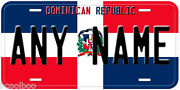 Dominican Republic Car Flag