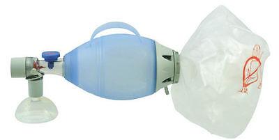 Manual Resuscitator Pediatric Ambu Bag Silicon Free Shipping