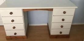 ZINE DRESSING TABLE PAINTED IN LAURA ASHLEY FURNITURE PAINT PALE CREAM