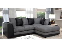 SAME/NEXT DAY DELIVERY! BRAND NEW NEW BYRON JUMBO CORD CORNER OR 3+2 SEATER SOFA -- 65% OFF SALE NOW