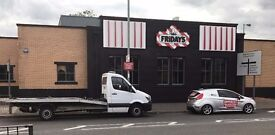 24/7 RECOVERY & BREAKDOWN,CAR MOVEMENTS ACROSS UK,SCRAP & NON RUNNERS BOUGHT.GREAT PRICE 'N' SERVICE