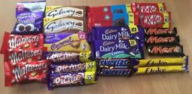 Bulk selections of chocolate - New & in date