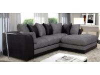 Supreme Quality Furniture - Brand New Byron 3 And 2 sofa or corner sofa in jumbo cord fabric