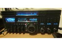 Yaesu ftdx 5000d hf transceiver + sm 5000 monitor