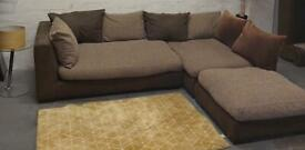 Dfs L shape corner sofa