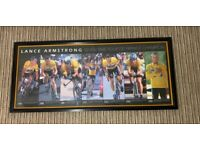 Lance Armstrong picture frame